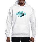 Hibiscus Surf - Hooded Sweatshirt