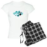 Hibiscus Surf - Women's Light Pajamas