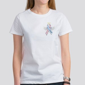 Winged CDH Awareness Ribbon Women's T-Shirt