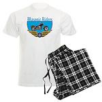 Masonic Bikers Men's Light Pajamas