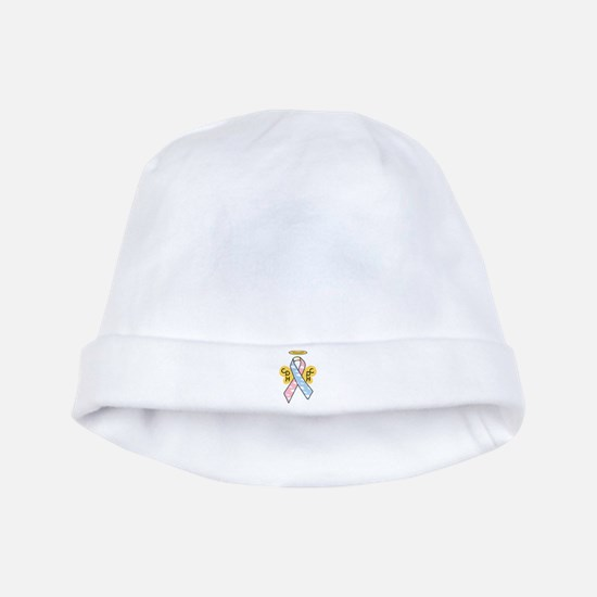 Kids Winged CDH Awareness Ribbon baby hat