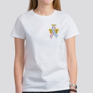 Kids Winged CDH Awareness Ribbon Women's T-Shirt