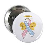 Kids Winged CDH Awareness Ribbon 2.25