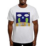 Alien Travel Advisory Light T-Shirt