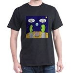 Alien Travel Advisory Dark T-Shirt