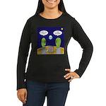 Alien Travel Advi Women's Long Sleeve Dark T-Shirt
