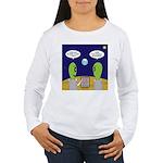 Alien Travel Advisory Women's Long Sleeve T-Shirt