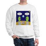 Alien Travel Advisory Sweatshirt