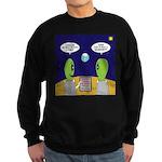 Alien Travel Advisory Sweatshirt (dark)