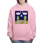 Alien Travel Advisory Women's Hooded Sweatshirt