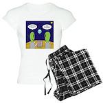 Alien Travel Advisory Women's Light Pajamas