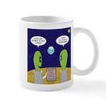 Alien Travel Advisory 11 oz Ceramic Mug