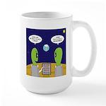 Alien Travel Advisory 15 oz Ceramic Large Mug