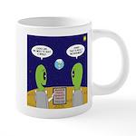 Alien Travel Advisory 20 oz Ceramic Mega Mug