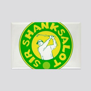 Sir Shanksalot Rectangle Magnet