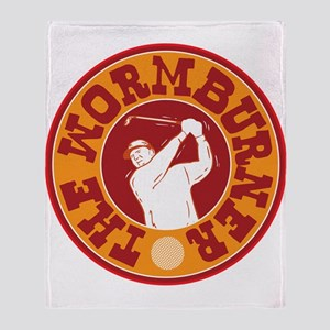The Wormburner Throw Blanket