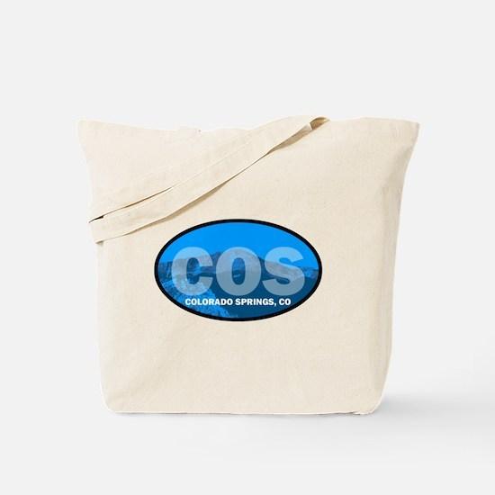 Colorado Springs, CO Tote Bag