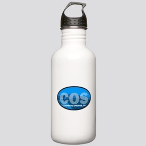 Colorado Springs, CO Stainless Water Bottle 1.0L