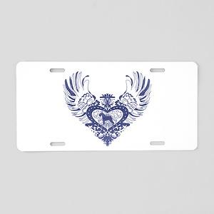 Schnauzer Aluminum License Plate
