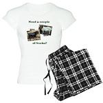 Need A Couple of Bucks Women's Light Pajamas