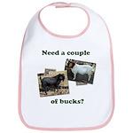 Need A Couple of Bucks Bib
