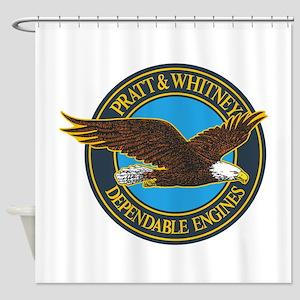 P&W1 Shower Curtain