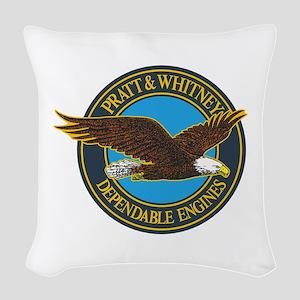 P&W1 Woven Throw Pillow