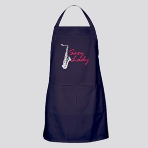 Saxy Lady Apron (dark)