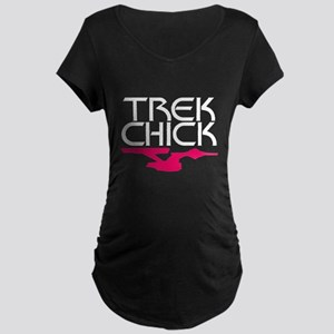Trek Chick Maternity Dark T-Shirt