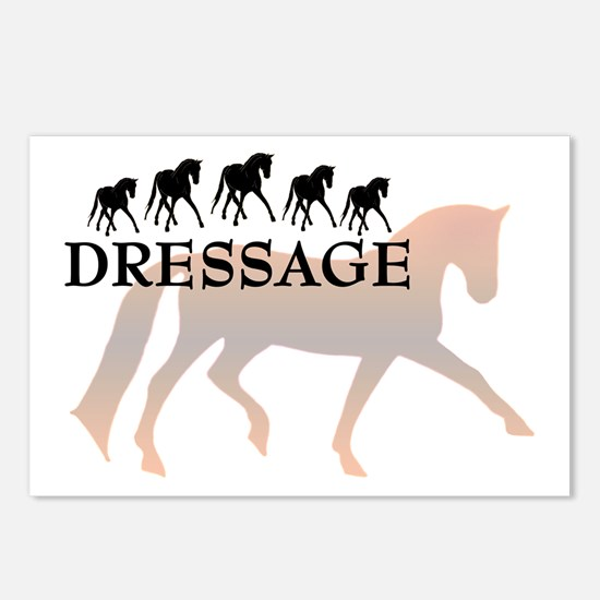 -dressage-  Postcards (Package of 8)