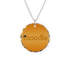 Orange Moodle Necklace