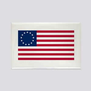 Betsy Ross Rectangle Magnet