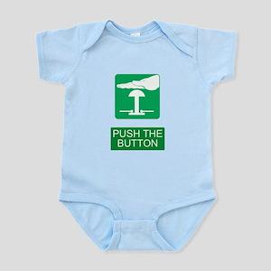Push The Button Infant Bodysuit