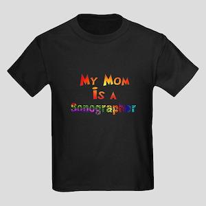Sonographer Kids Dark T-Shirt
