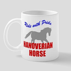 Ride With Pride Hanoverian Horse Mug
