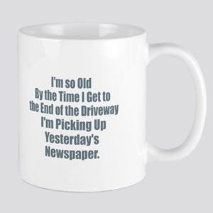 Old - Yesterdays NewspaperYou're Not Funn Mugs