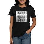 Don't Feed the Birds Women's Dark T-Shirt
