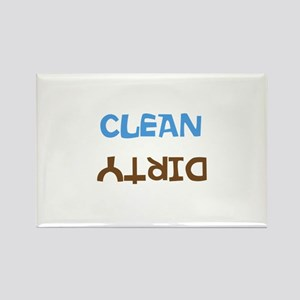 clean/dirty dishwasher Rectangle Magnet