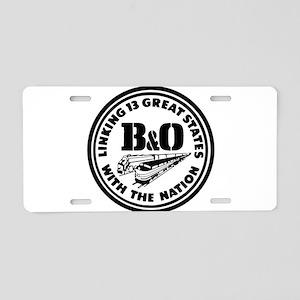 B&O 13 states railway logo Aluminum License Plate