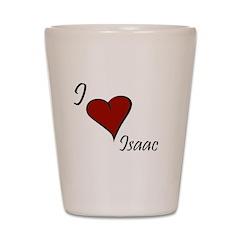 I love Isaac Shot Glass