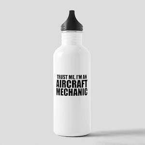 Trust Me, I'm An Aircraft Mechanic Water Bottl