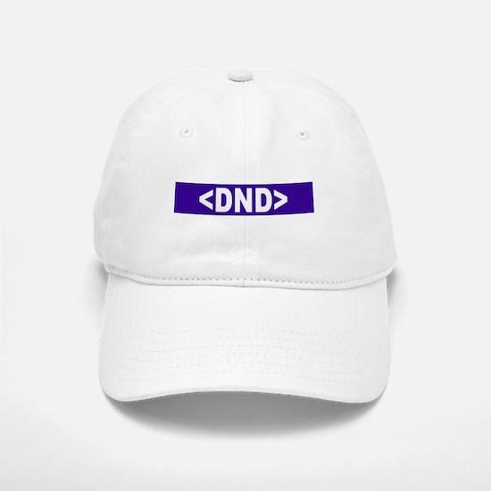DND (Blue) Baseball Baseball Cap
