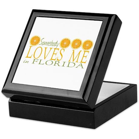 Somebody Loves Me in Florida Keepsake Box