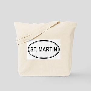St. Martin Euro Tote Bag