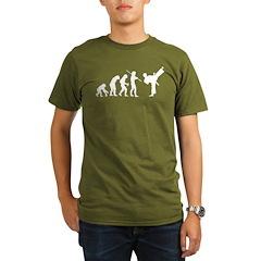 Evolution Karate Organic Men's T-Shirt (dark)