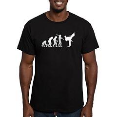 Evolution Karate Men's Fitted T-Shirt (dark)