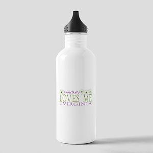 Somebody Loves Me in Virginia Stainless Water Bott