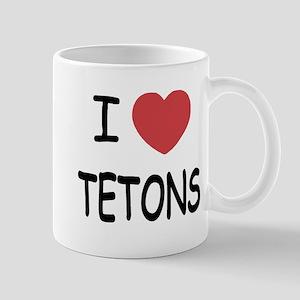 I heart tetons Mug