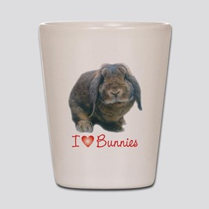 bunny lover Shot Glass
