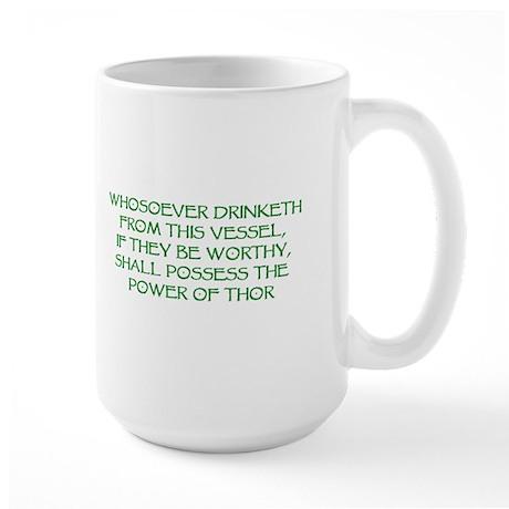 thor drink green Mugs